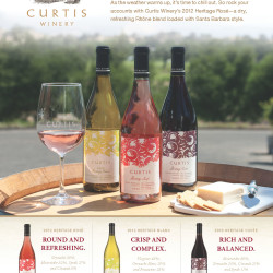 Curtis Advertisement - Tear Sheet